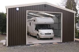 flat roof car port tor steel buildings steel campervan motorhome storage