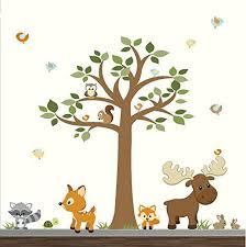 Animal Wall Decor For Nursery Wall Decal Wonderful Ideas Woodland Animal Wall Decals Woodland