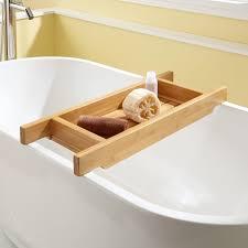 adjustable bathtub caddy 30 hancock bamboo tub caddy bathroom
