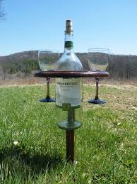 outdoor wine glass holder table magnum folding wine table wine glass holder outdoor wine glass