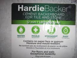 Strongest Sheets On The Market by Hardie Backer Cement Board 1200x800 X12mm 2 Sheets In Colchester