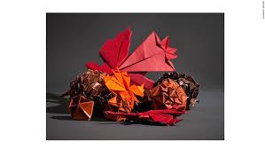 mit geeks create an origami thanksgiving cnn