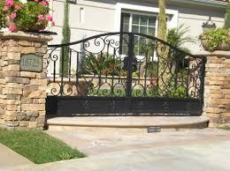 ornamental wrought iron gates fences fullerton ca railings