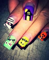 Halloween Nail Art Pumpkin - 463 best nails for my girls u003c3 images on pinterest halloween