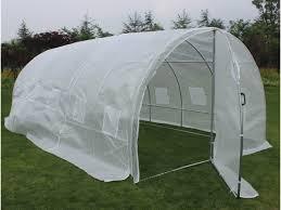 serre tunelle de jardin serre tunnel de jardin avec porte mimosa 220g m2 67252 67278