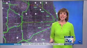 Traffic Map Chicago by Abc Chicago Updates Traffic Maps Newscaststudio