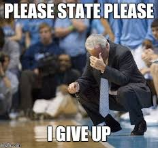 Unc Basketball Meme - nc state over unc imgflip
