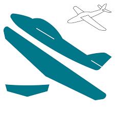 3 d airplane steel rule die accucut craft