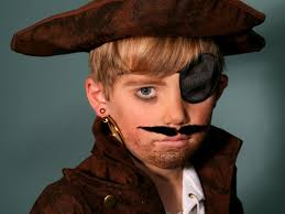 pirate makeup for little girls