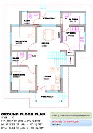 Kerala Style 3 Bedroom Single Floor House Plans Small House Floor Plans Kerala