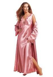 robe de chambre satin peignoir satin viviane boutique