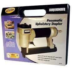 Upholstery Job Description Surebonder 9615a 300 3a 22g Pneumatic Upholstery Staple Gun Kit