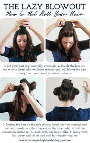 put your on a haircut best 25 rollers in hair ideas on pinterest sleep in hair