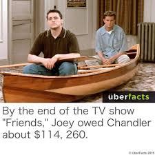 Chandler Meme - friends 1994 meme joey owed chandler on bingememe