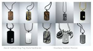 mens necklace style images Mens dog tag jewelry assorted dog tag style necklaces mens jpg