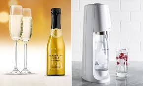 how to make prosecco at home using a retro sodastream daily mail