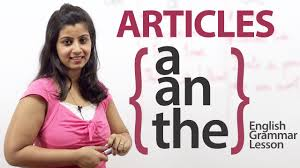 articles a an u0026 the english grammar lesson youtube
