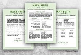 retail resume template word resume template start