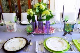 table decorating ideas dining table decor ideas purple and green toot sweet 4 two