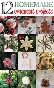 12 homemade christmas ornaments our southern home