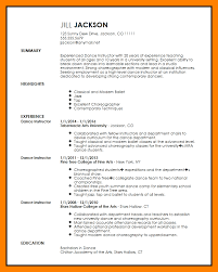 Dancer Resume Template 11 Dance Resume Template Mla Cover Page