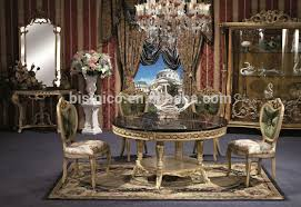 Royal Dining Room by Romantic Emerald Round Dining Furniture British Style Replica