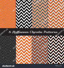 orange black halloween background halloween chevron orange black white thick stock vector 217900846