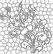 the simple stained glass pattern ideas for good ornament afrozep