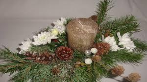 weihnachtsdeko selber machen adventsgesteck