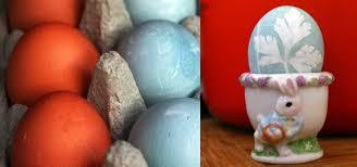 how to color easter eggs with veggies u0026 herbs instead of store
