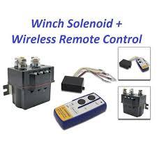 contactor heavy duty solenoid relay wireless remote control