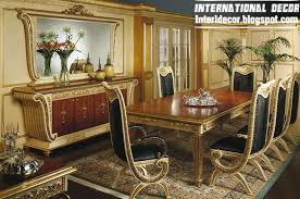Luxury Italian Dining Room Furniture Glided Models - Luxury dining room furniture