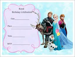 Birthday Party Invitation Card Design Free Frozen Party Invitations Frozen Party Pinterest Party