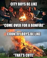 Country Girl Memes - city boys vs country boys meme