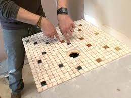 Bathroom Counter Ideas Colors How To Create A Mosaic Glass Tile Countertop How Tos Diy