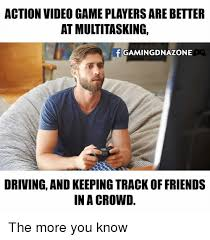 action video game players arebetter at multitasking f gaming dnazone