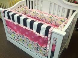 Pink And Black Crib Bedding Sets 42 Best Crib Bedding Images On Pinterest Crib Bedding Crib