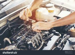 car service garage auto car service vehicles by stock photo 578807707
