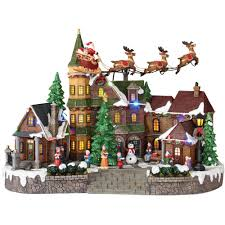 home accents 12 5 in animated musical led with