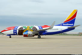 Southwest Flight Deals by Boeing 737 7h4 Missouri One Created In 2015 This Aircraft Was