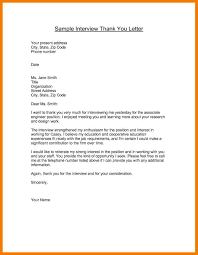 11 thank you letter after interview examples mbta online