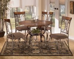 ashley signature design plentywood metal dining upholstered side