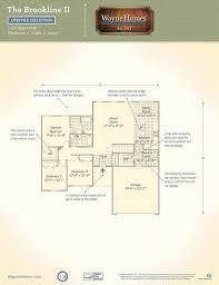 Us Home Floor Plans Brookline Ii Wayne Homes