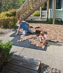 How To Install Pavers For A Patio Resurfacing Patios Is A With Azek Pavers Diy Pavers