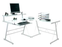 Small Metal Computer Desk Glass And Metal Computer Desk Small Medium Size Of Workstation