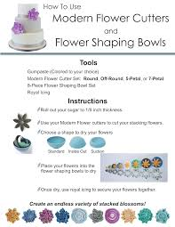 resource center modern flower cutters and flower shaping bowls