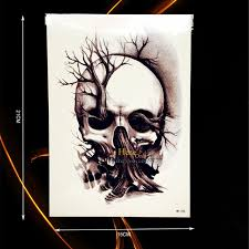 1pc design skull tree for
