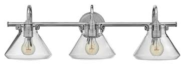 Chrome Bathroom Light Fixtures Upc 640665500899 Hinkley Lighting 50036cm Chrome Industrial