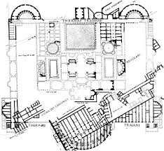 Baths Of Caracalla Floor Plan Sources And Parallels For The Design And Construction Of The