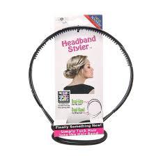 headband styler cross black headband styler s